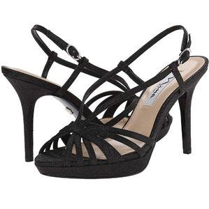 NINA Fenix platform dress sandals. Size 10